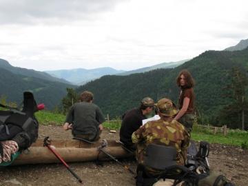 Привал на кормушке (Кавказ 2008)