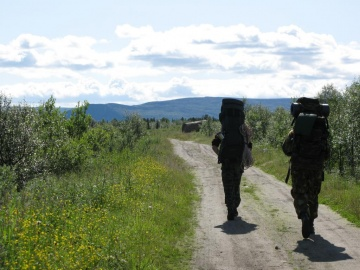 В путь дорогу (Ловозерье 2009)