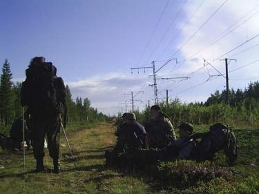 Лесоруб на низкий старт (Хибины 2005)