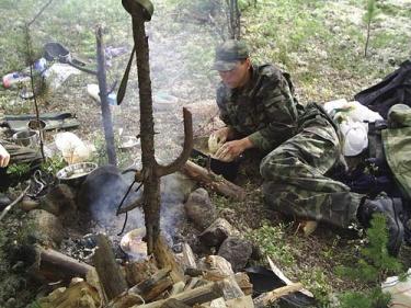 Приготовление Лимбасов (Хибины 2005)