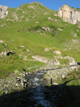 Раннее утро (Кавказ 2008)