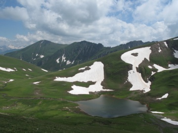 Озеро близб пер.Чилик (Кавказ 2008)