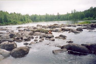 Злой на водопое (Карелия 2003)