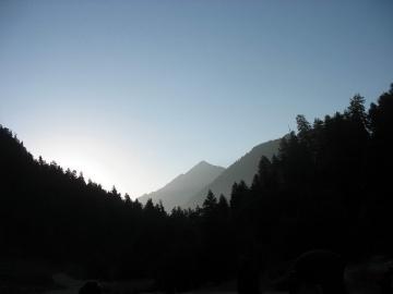 Утро (Кавказ 2008)