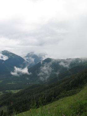 Где-то там церковная поляна  (Кавказ 2008)