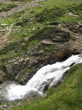 Еще водопад (Кавказ 2008)