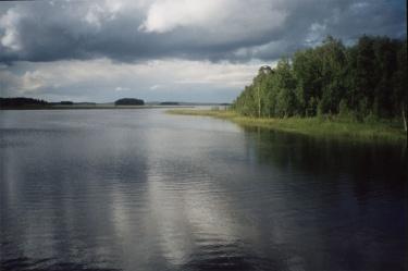Озеро Ельмозеро (Карелия 2002)