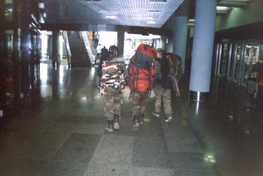 На вокзале (Карелия 2003)