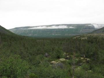 Местный облачный пейхаж (Ловозерье 2009)