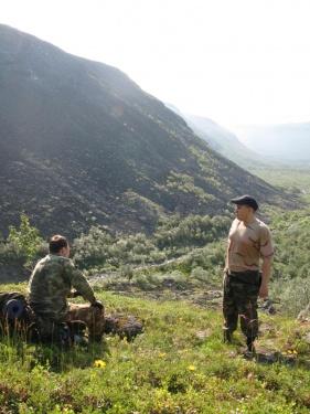 Над долиной (Ловозерье 2009)