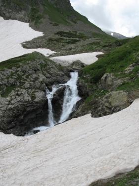 Водопад (Кавказ 2008)