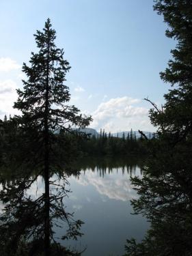 Озеро справа по курсу (Ловозерье 2009)