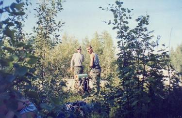 На привале (Сегежа-Пенинга 2002)