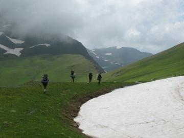 На марше (Кавказ 2008)