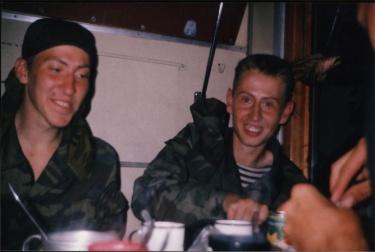 В поезде (Карелия 2002)