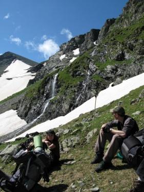 Ловим минуты отдыха (Кавказ 2008)