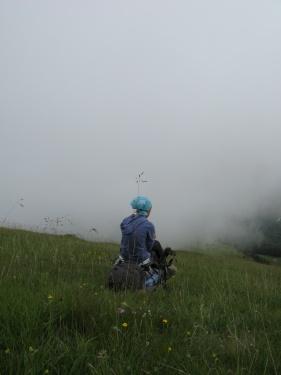 Нуя и облако (Кавказ 2008)