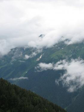 Облака  (Кавказ 2008)