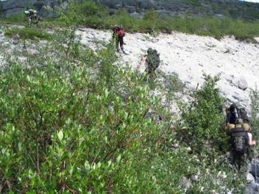 Подъем на Южный Чорргор (Хибины 2005)