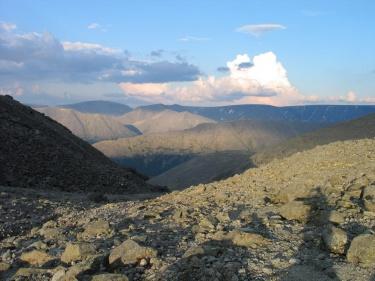 Перевал Южный Чорргор  (Хибины 2005)