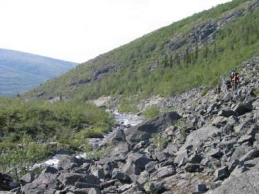 Склон (Хибины 2005)