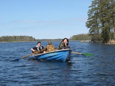 Трое в лодке (Вуокса 2008)