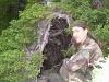 Алексор нашел Баню (Хибины 2005)