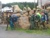 Лоси у медведей (Урал 2007)