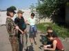 Военнсовет у погранцов  (Кавказ 2008)