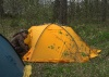 Алексор с новой палаткой (Вуокса 2008)